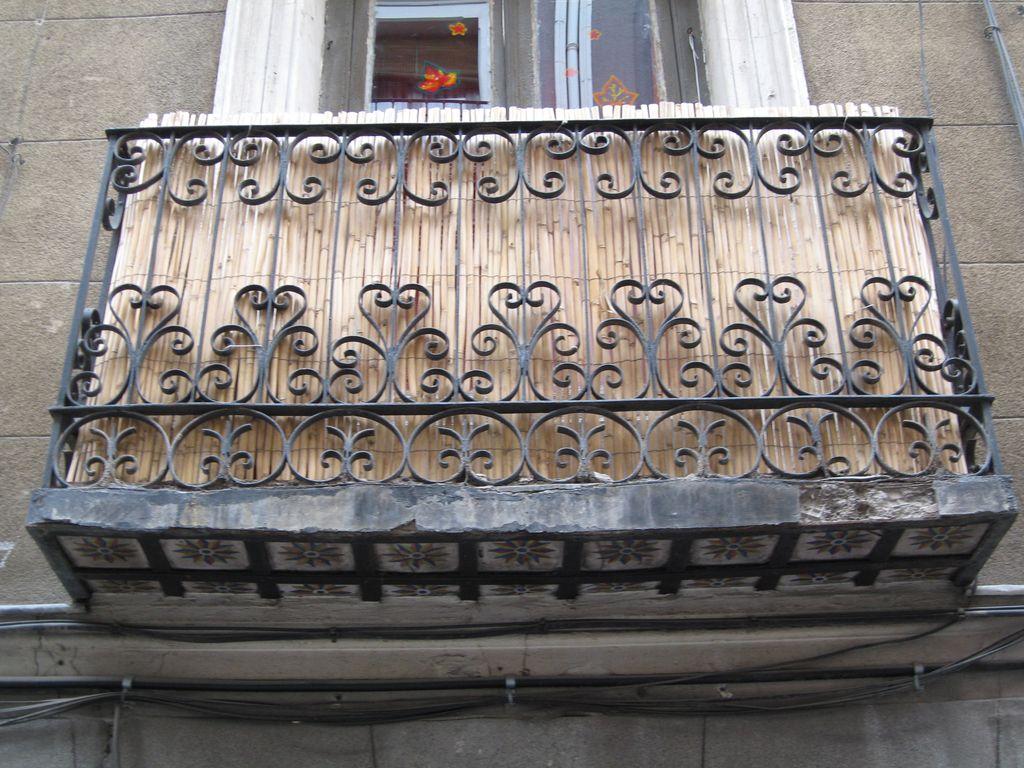Restauraci n de balc n farf n estudio - Balcones de forja antiguos ...