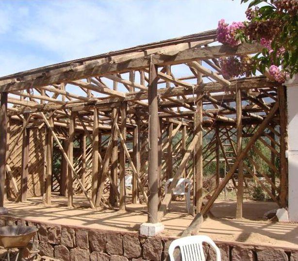 Rehabilitación De Casas De Entramado De Madera Con Barro