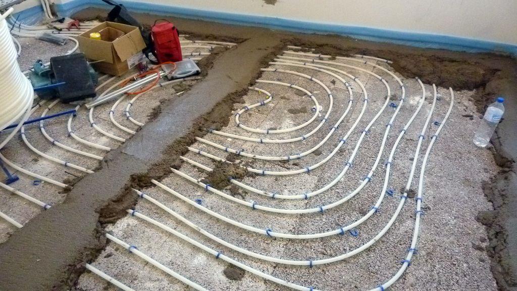 Proyecto de bioconstrucci n en malasa a construcci n de suelo radiante con paneles de corcho - Calefaccion por el suelo ...