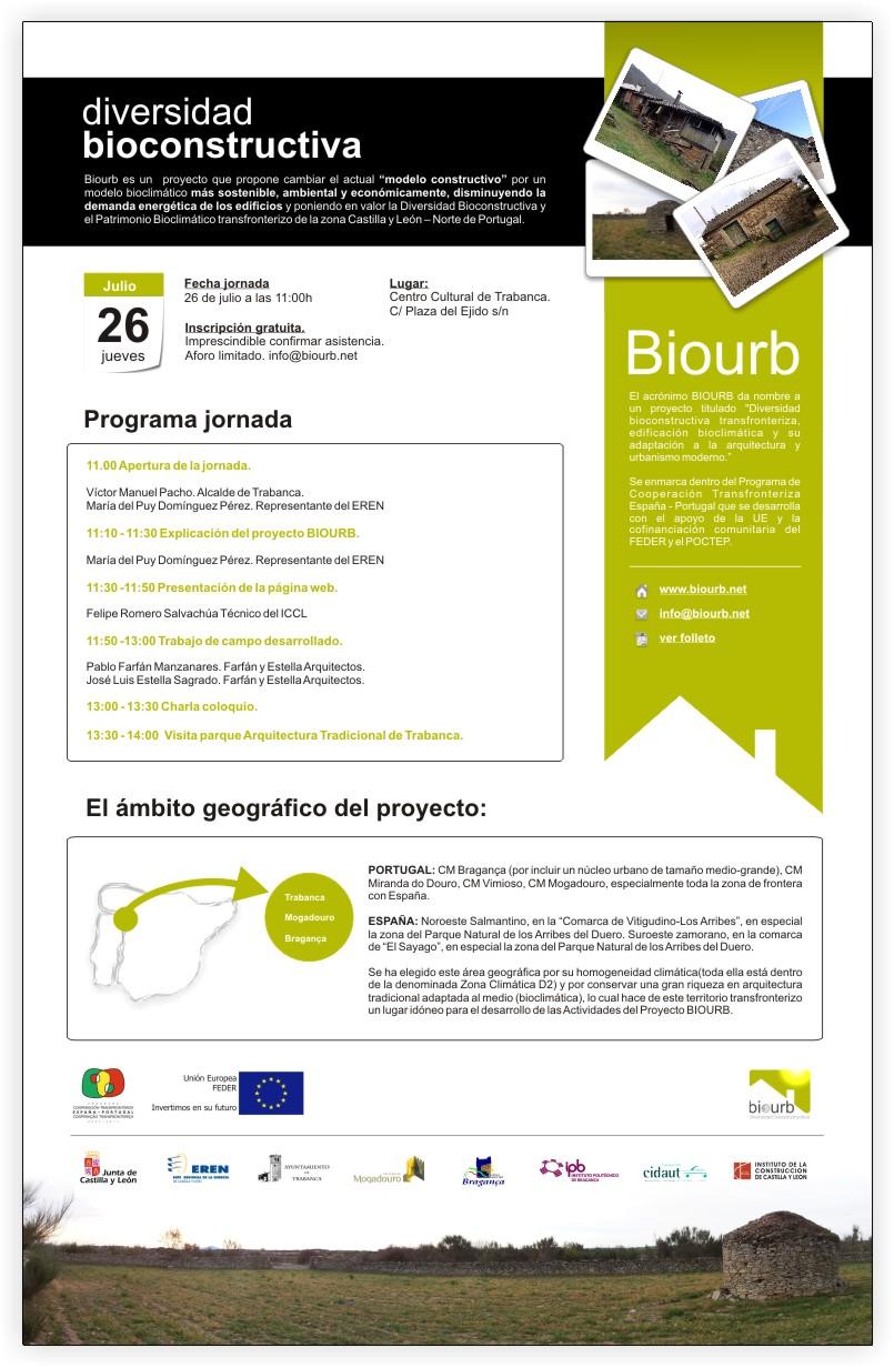 jornada presentación proyecto biourb 26 de julio en trabanca